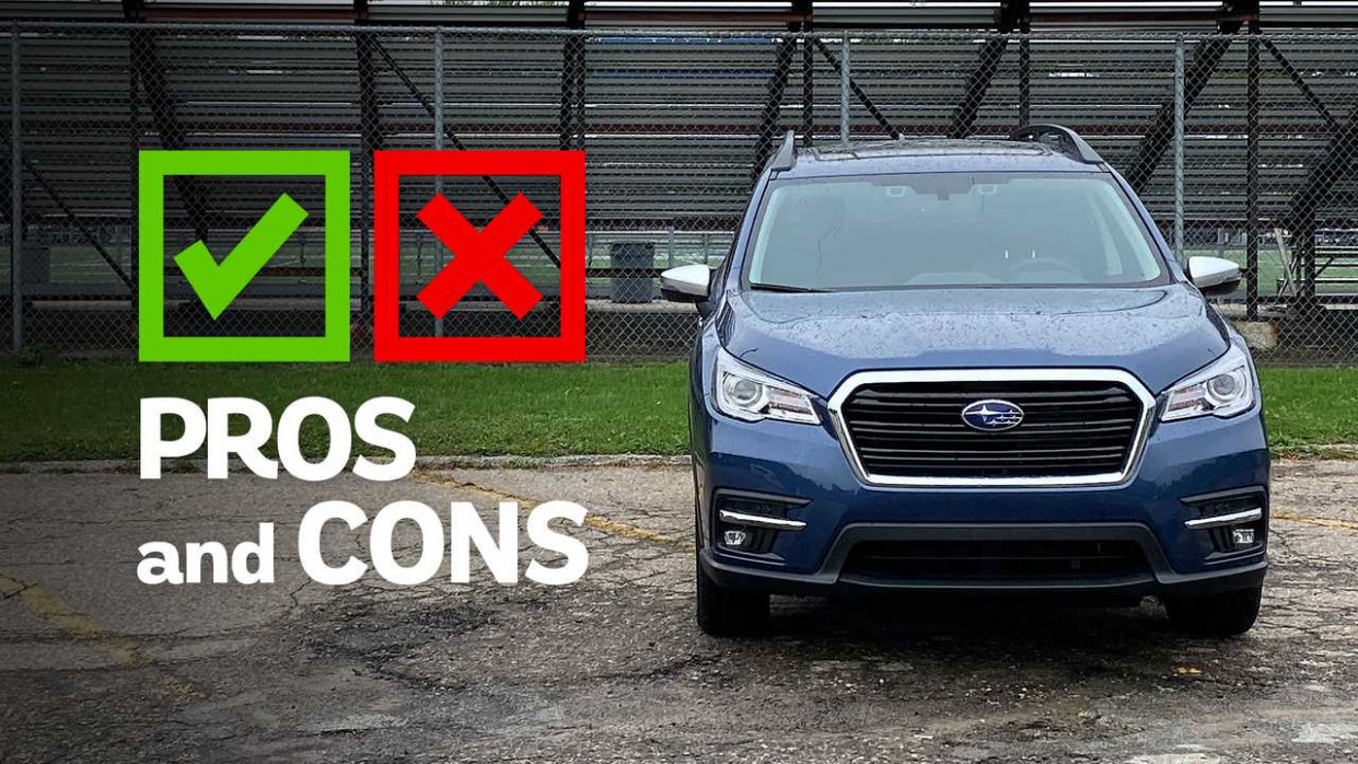 7 Subaru Ascent Touring: Pros And Cons