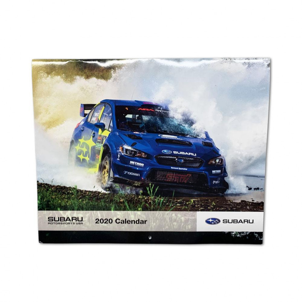 7 - Subaru Motorsports USA - Rally / RallyCross Team Calendar