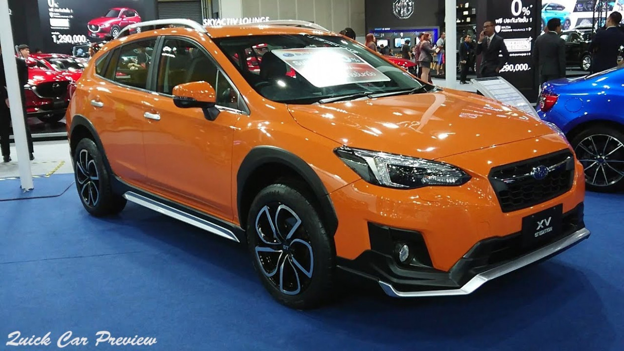 7 Subaru XV GT Edition 7.7 AWD / Sunshine Orange | Quick Preview