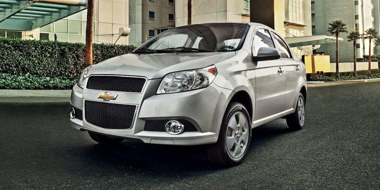 7 thousand pounds, a decrease in the prices of Chevrolet Aveo cars ..