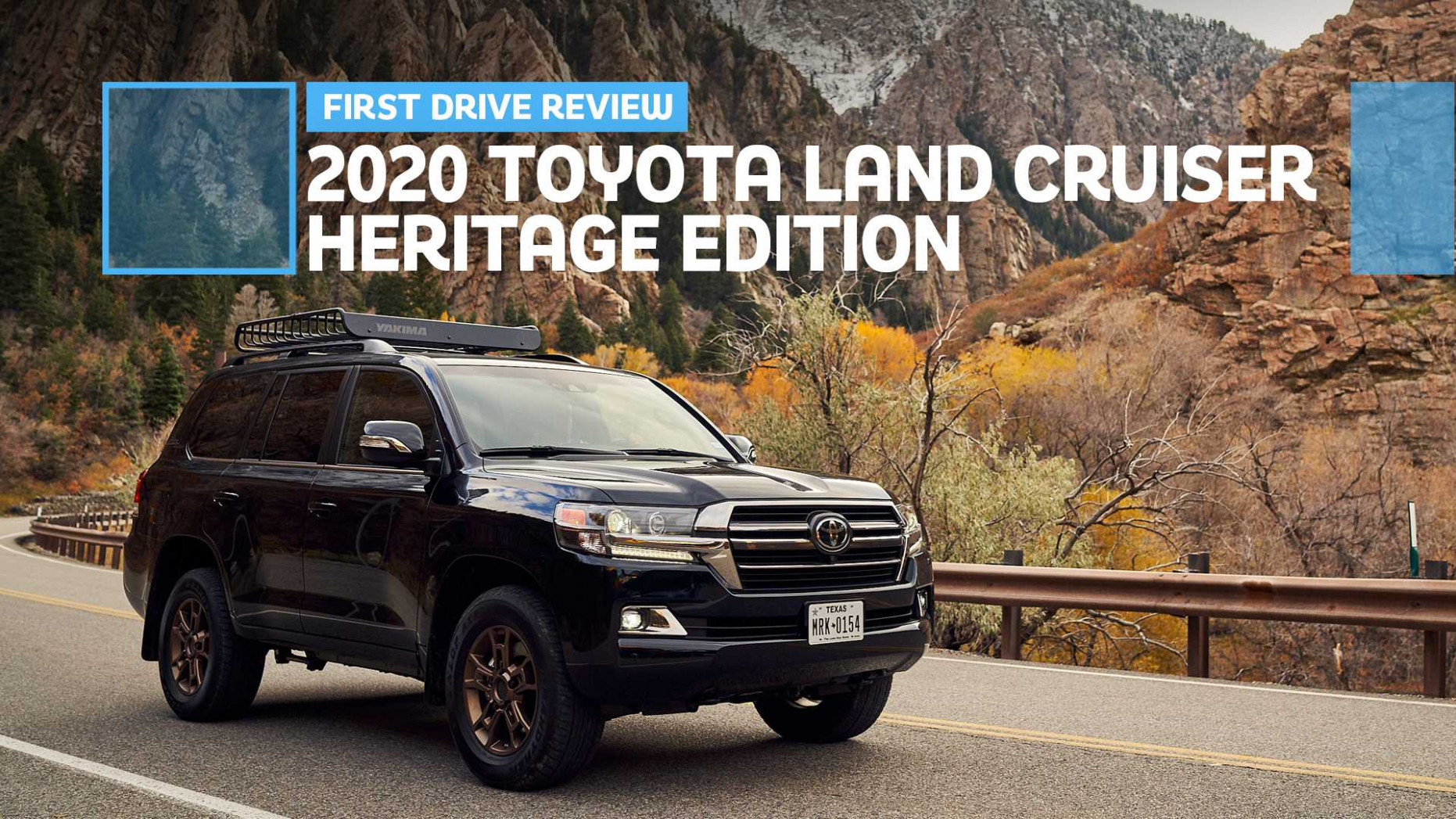 7 Toyota Land Cruiser Heritage Edition First Drive: Soldiering On
