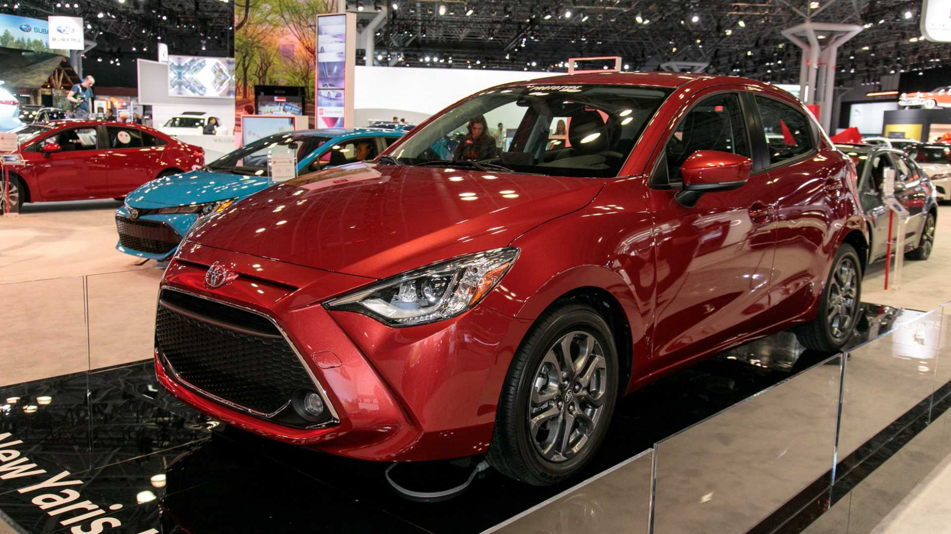 7 Toyota Yaris Hatchback Debuts With Mazda 7 Bones