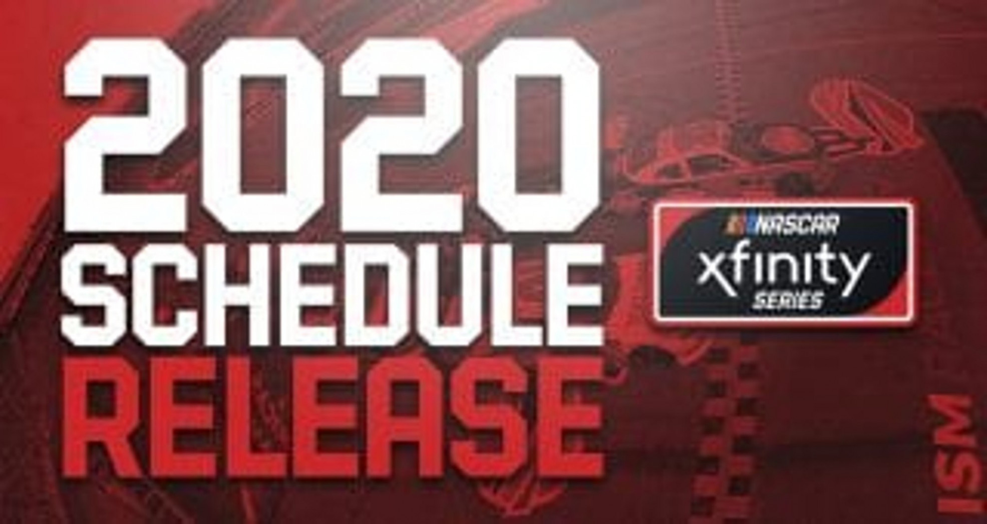 7 Xfinity Series schedule unveiled