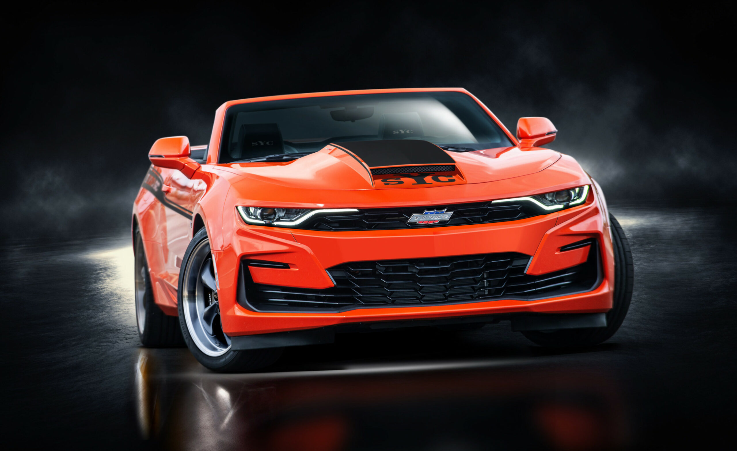 7 Yenko Camaro Has 7,7 HP And Is Available From Chevy Dealers ..