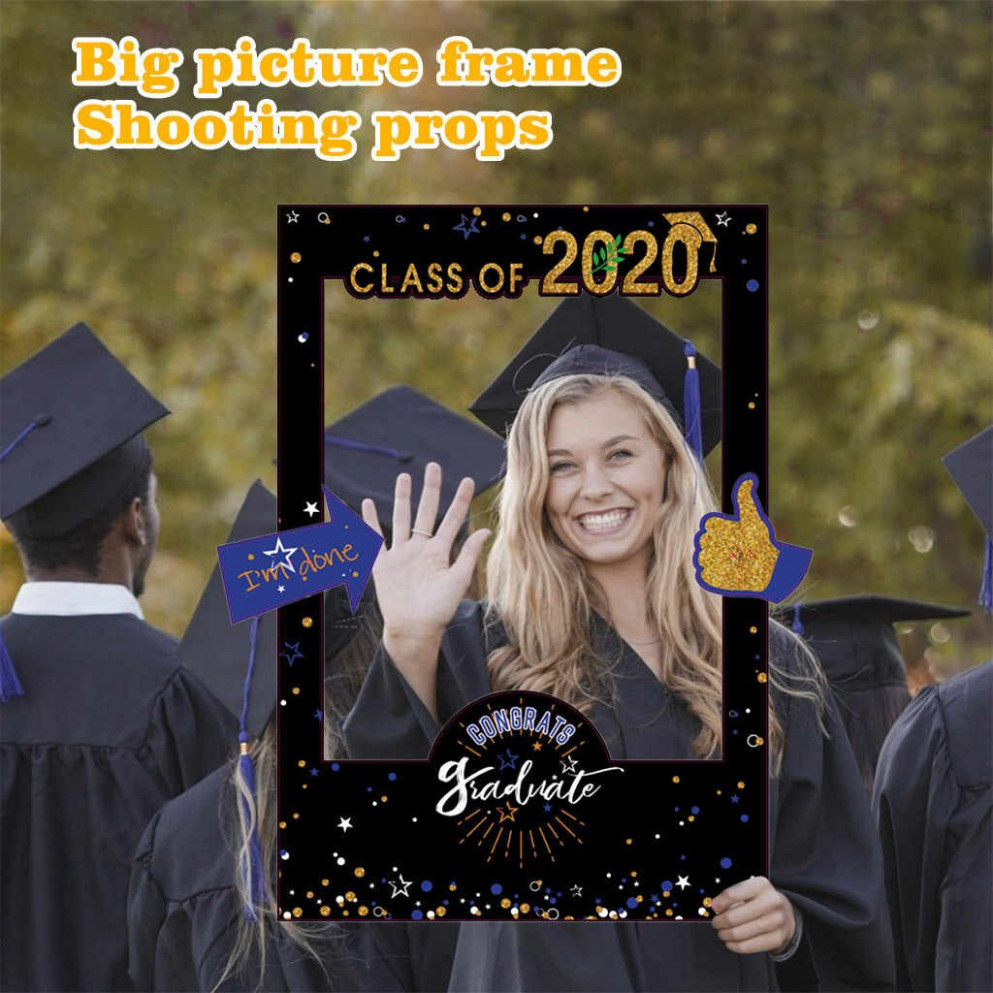 7pcs 7 Graduation Photo Booth Props Class of 7 Congrats ...