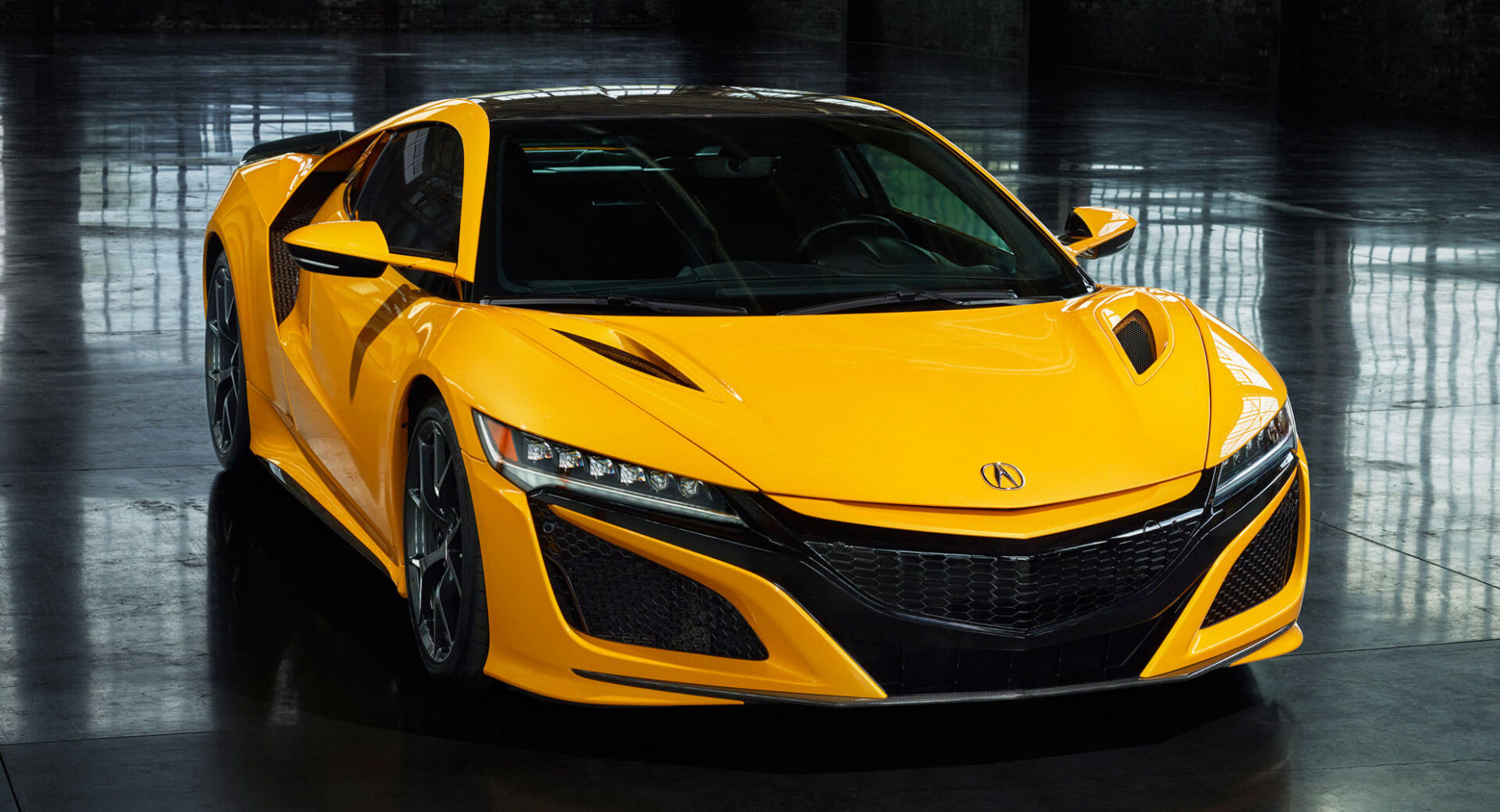 8 Acura NSX Debuts Second Heritage Color, Indy Yellow Pearl ..