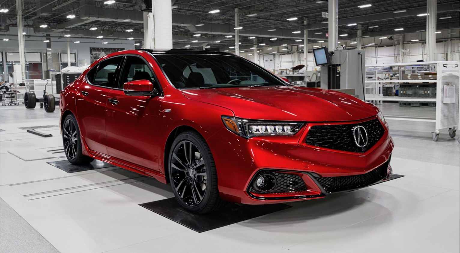 8 Acura TLX PMC Edition is built alongside the NSX | The Torque ..