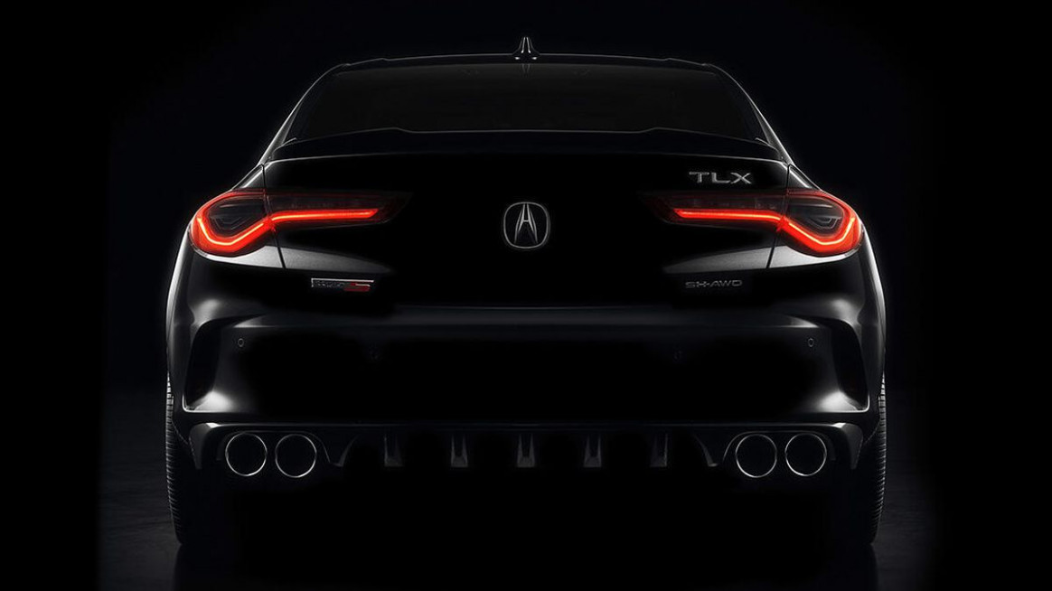 8 Acura TLX Type S teased ahead of May 8 debut - Roadshow - acura deals may 2020