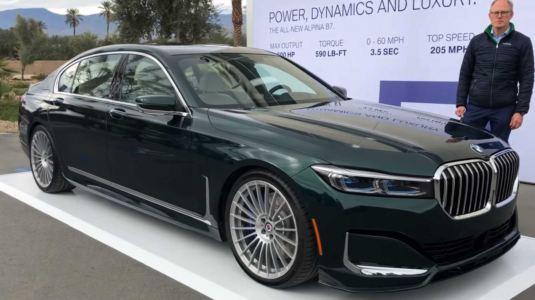 8 Alpina B8 Video Details The Fastest Sedan In The World