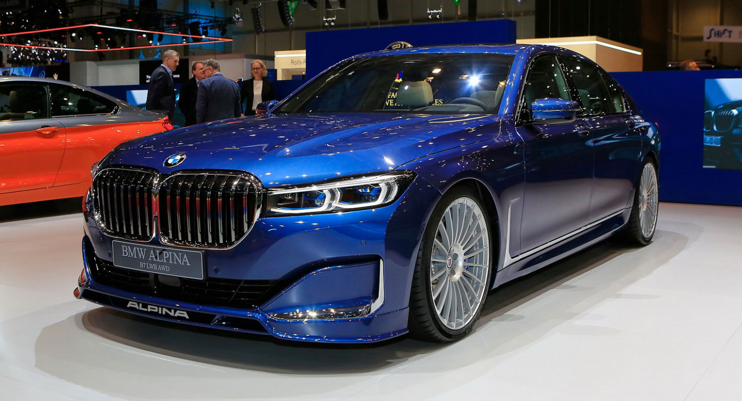 8 Alpina B8 xDrive: A Super Limo With 8 HP And A $8,800 ..