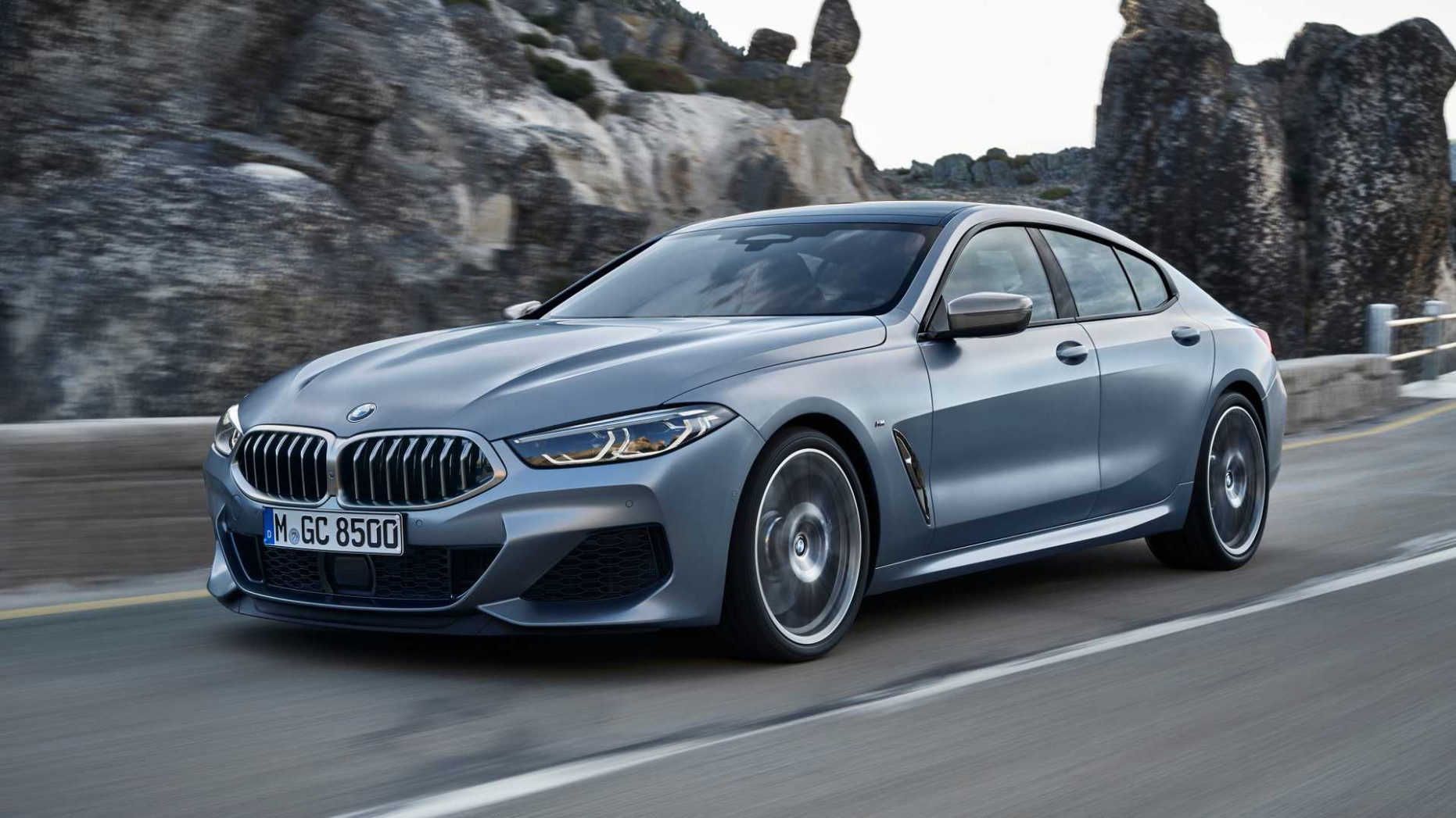 8 BMW 8 Series Gran Coupe Is Luxury Fun With Two More Doors