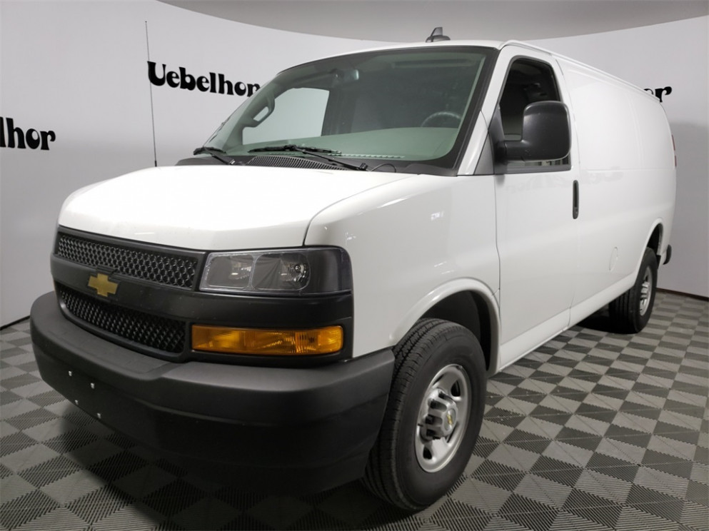 8 Chevrolet Express 8 8x8, Empty Cargo Van (Stock #ZT8) - 2020 chevrolet express 2500 work van