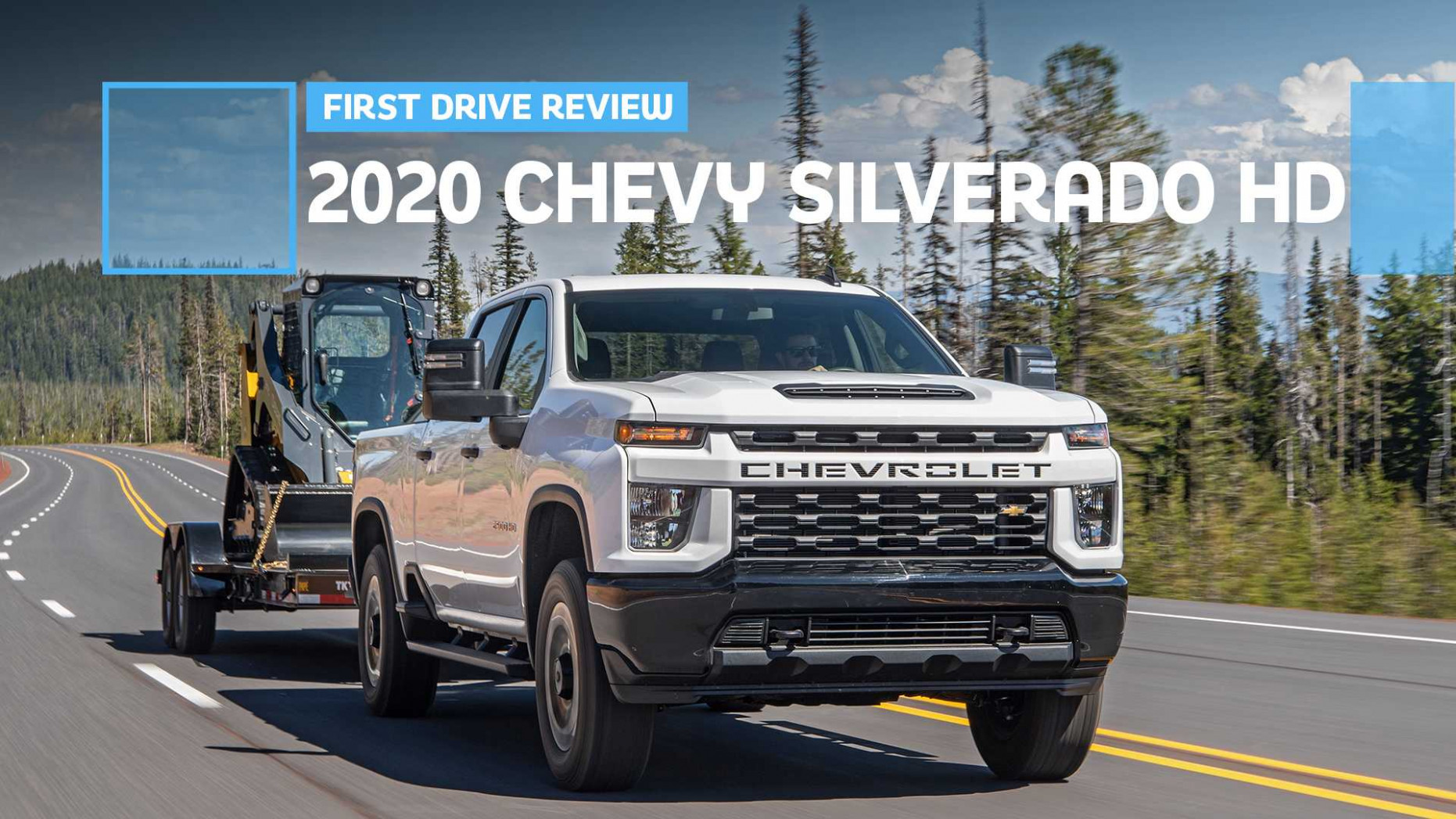 8 Chevrolet Silverado HD First Drive: Punishing Capability ...