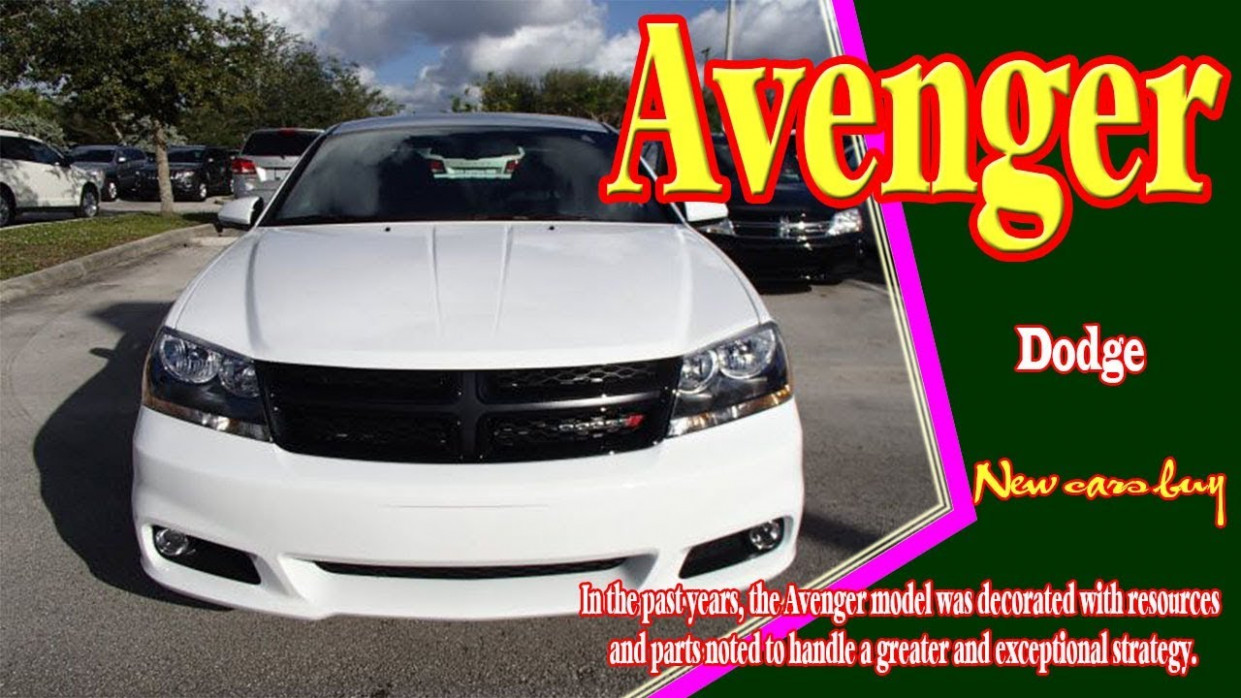 8 Dodge Avenger | 8 dodge avenger rt | 8 dodge avenger hellcat |  new cars buy