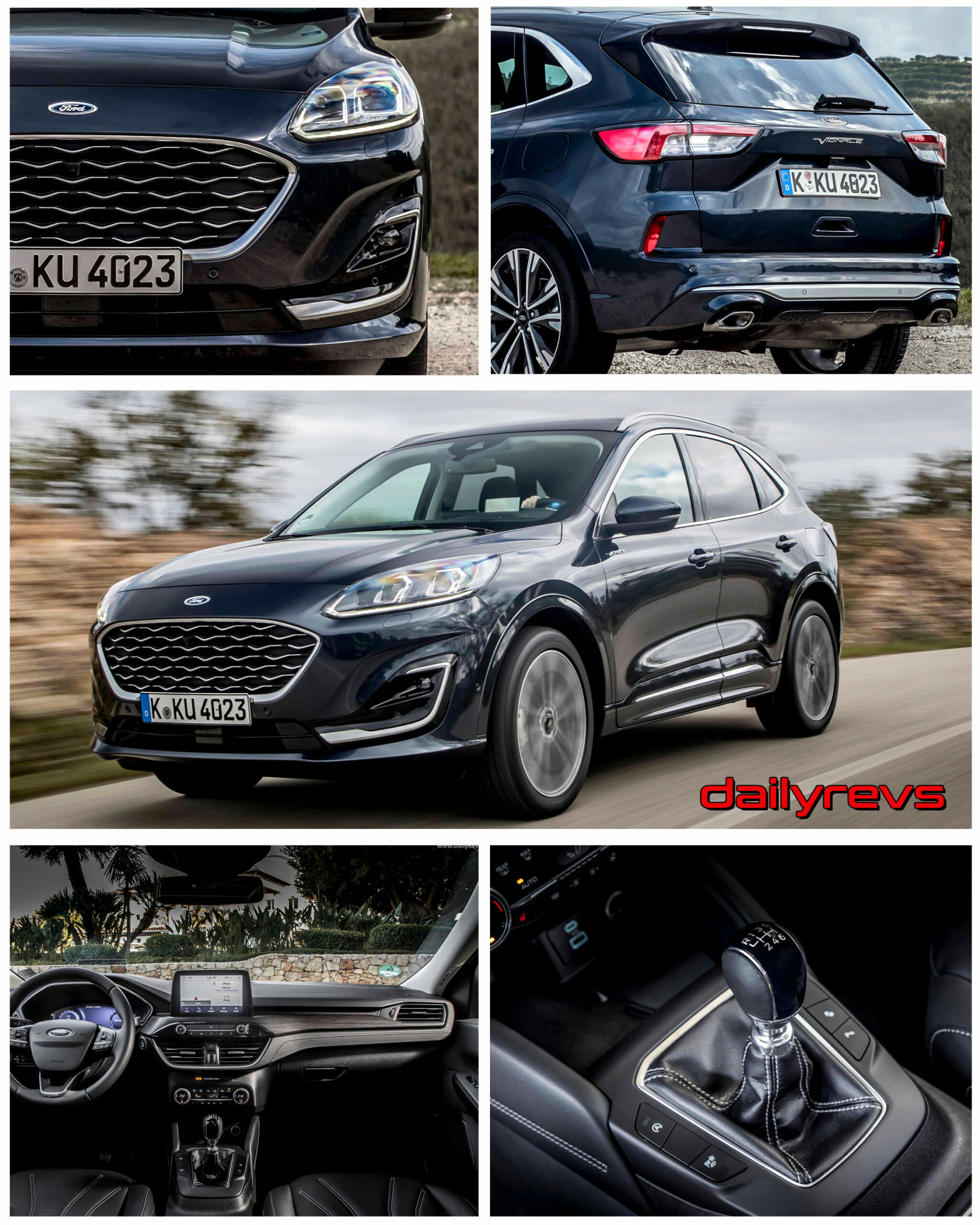 8 Ford Kuga Vignale Hybrid - HD Pics, Videos, Specs & Info ...