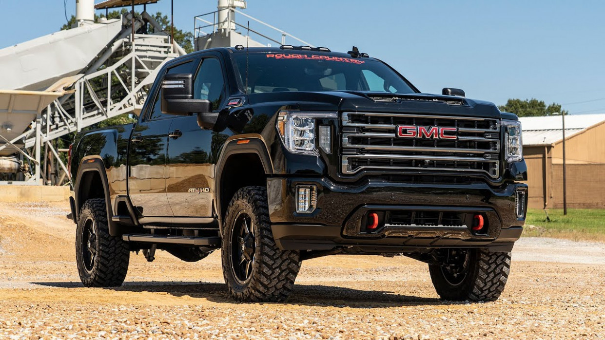 8 GM 8HD 8-inch Suspension Lift Kit by Rough Country - 2020 gmc lift kit