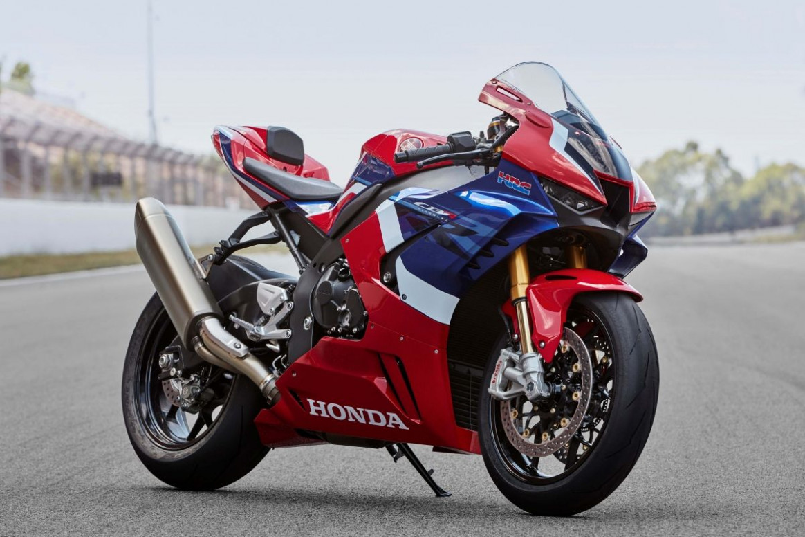 8 Honda CBR8RR-R Fireblade: 8 hp. Honda's back in the game