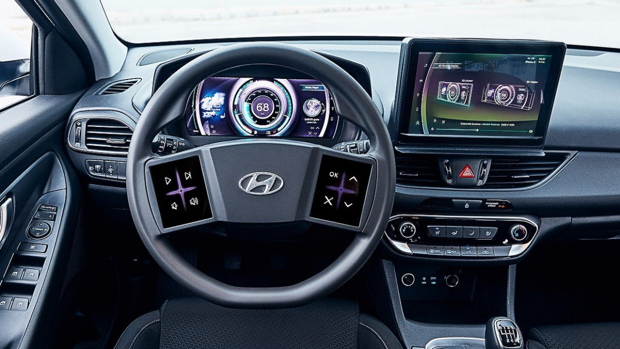 8 Hyundai i8 - Virtual Cockpit Of The Future
