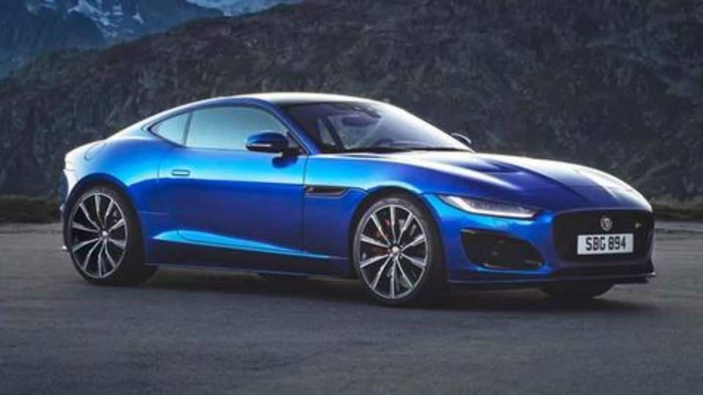 8 Jaguar F-Type launched, price starts at Rs. 8