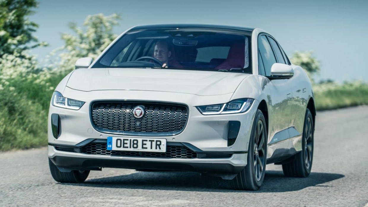 8 Jaguar I-Pace Review | Top Gear - jaguar opener 2020