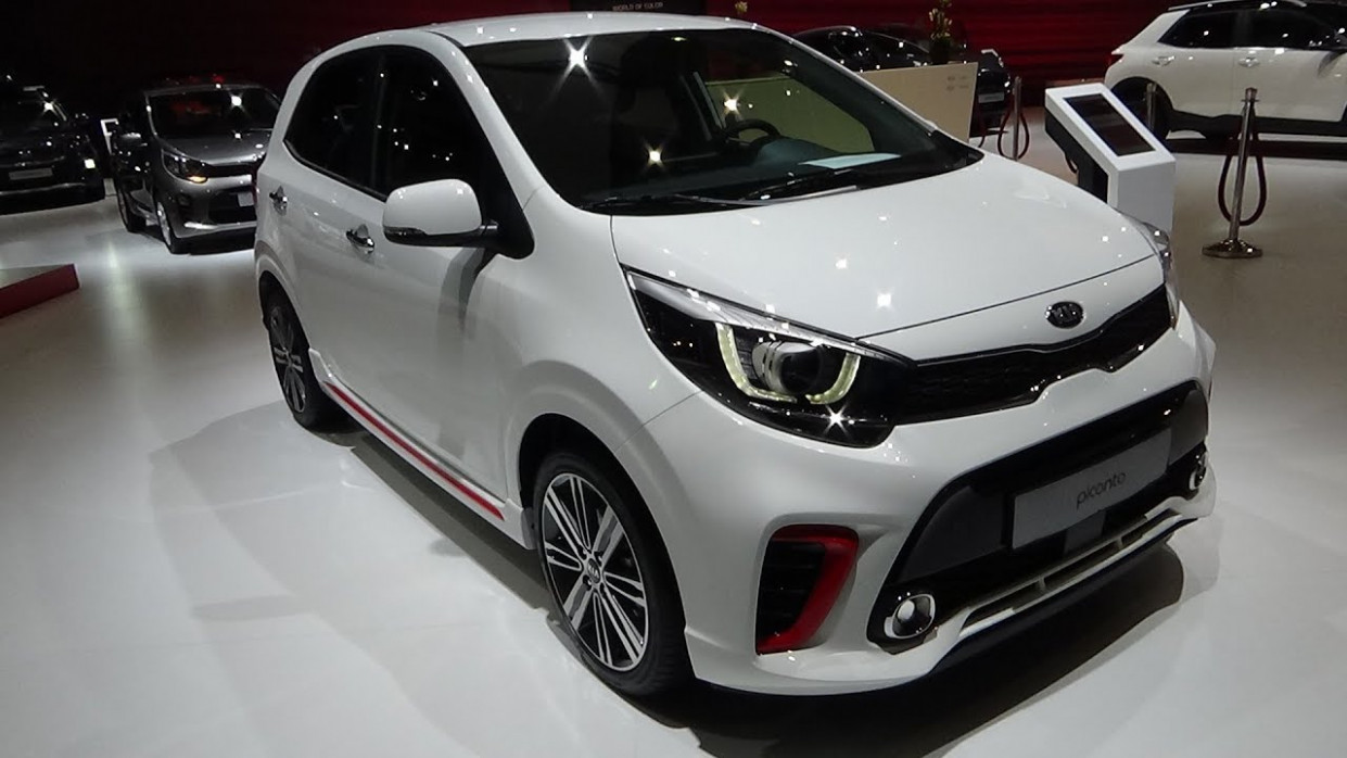 8 KIA Picanto GT-Line 8.8T ISG - Exterior and Interior - Auto Show  Brussels 8