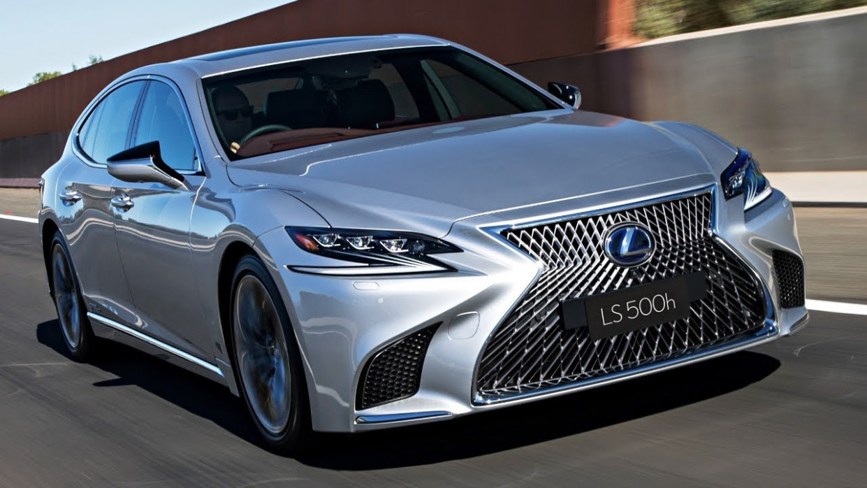 8 Lexus LS 8 Hybrid - New Lexus Luxury Sedan Experience