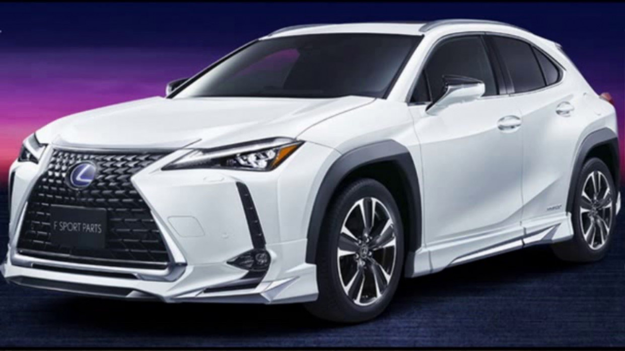 8 Lexus UX (hybrid) new generation for a modern SUV (With ..