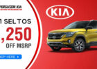 8 New Kia vehicles for sale near Tulsa, OK | Ferguson Kia