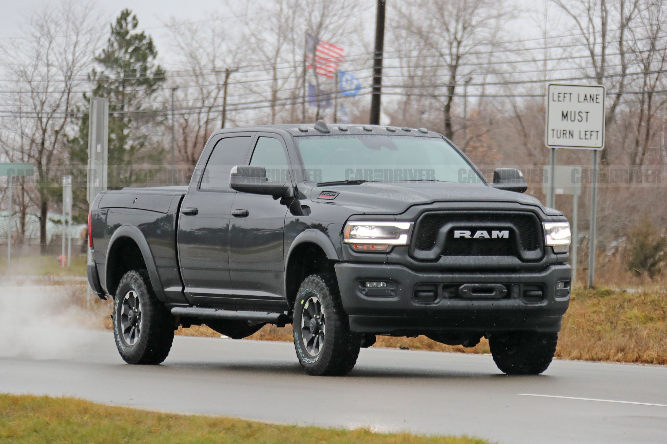 8 Ram Power Wagon 8 Pickup Spied in Its Birthday Suit
