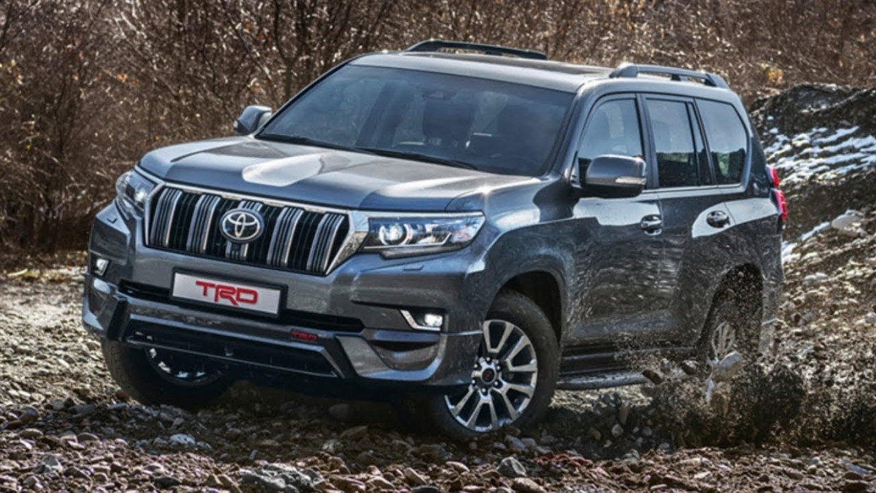 8 Toyota Fortuner TRD vs 8 Land Cruiser Prado TRD Introducing