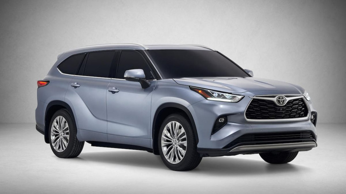 8 Toyota Highlander will haul the family starting at $8,8 ..