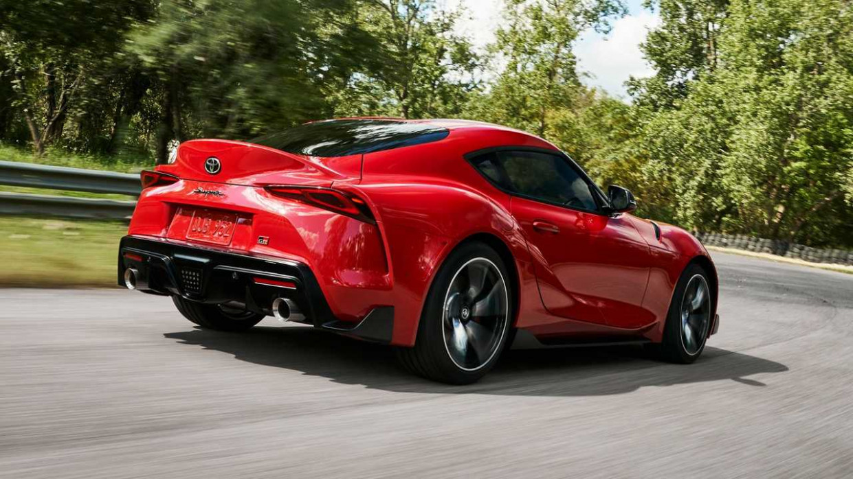 8 Toyota Supra Debuts With 8 HP After A Decade Of Foreplay ...
