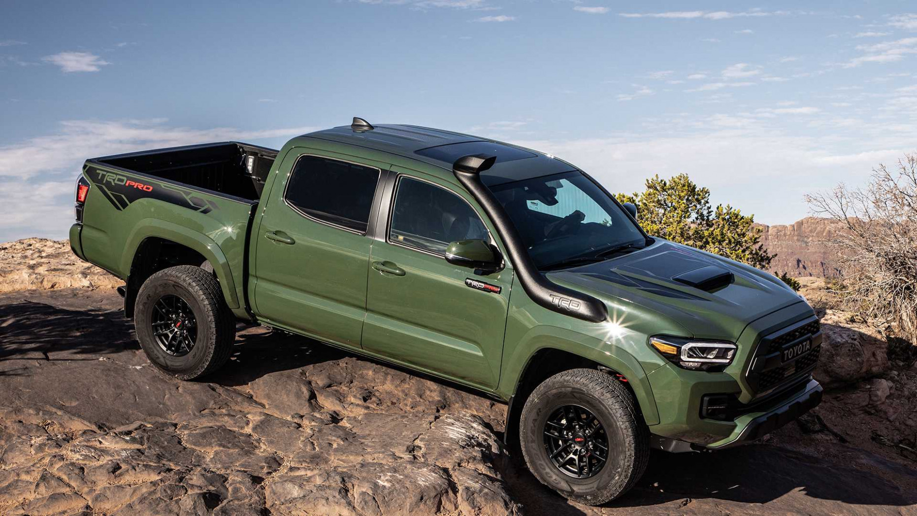 8 Toyota Tacoma TRD Pro Sees $8,8 Price Hike Over 2089 Model - toyota tacoma 2020 price