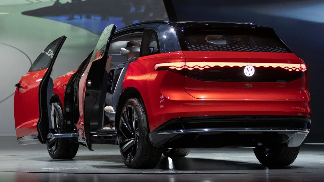 8 Volkswagen Suv Concept Introducing
