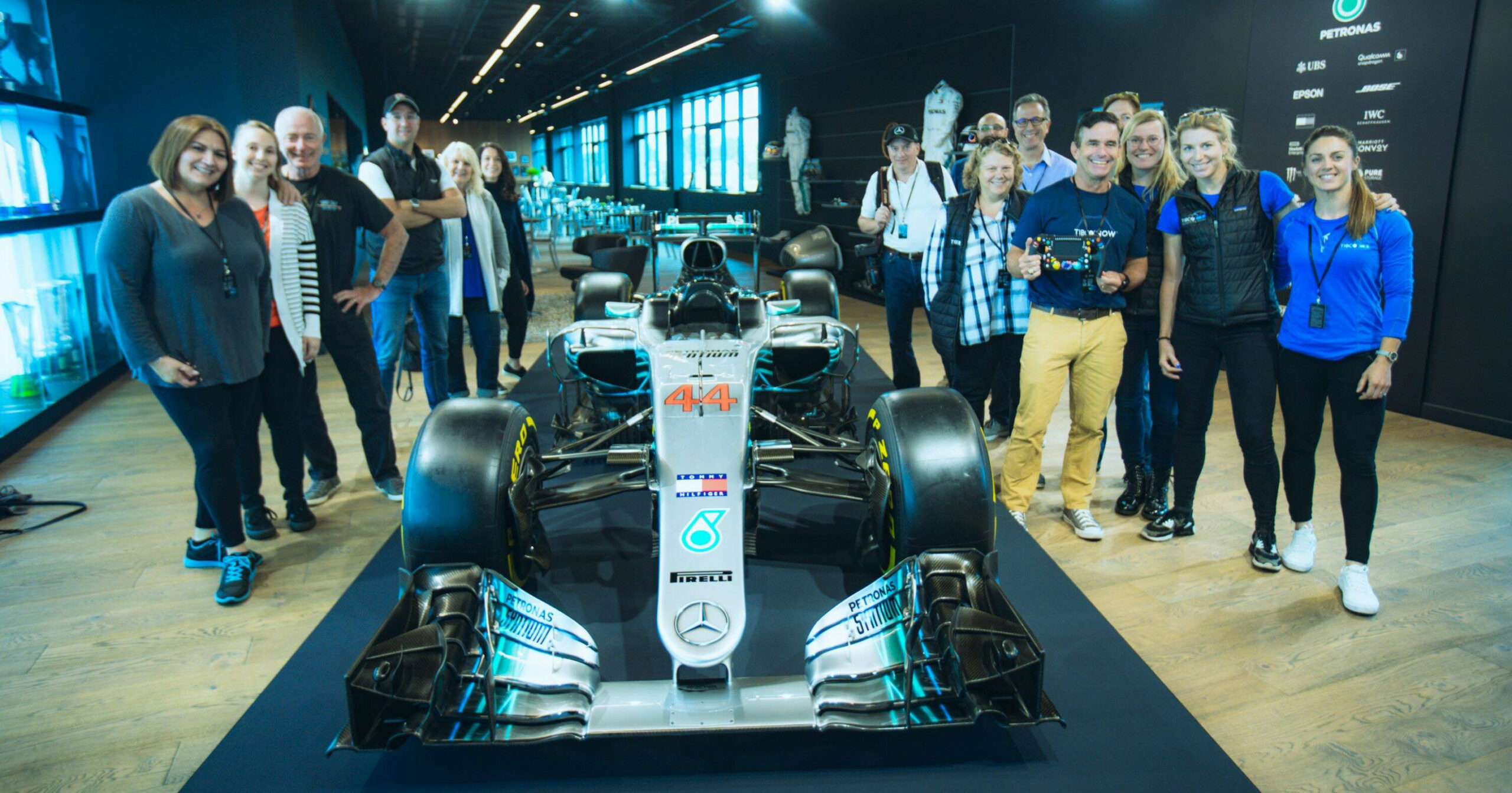 A Day of Collaboration with Mercedes-AMG Petronas Motorsport, Team ...