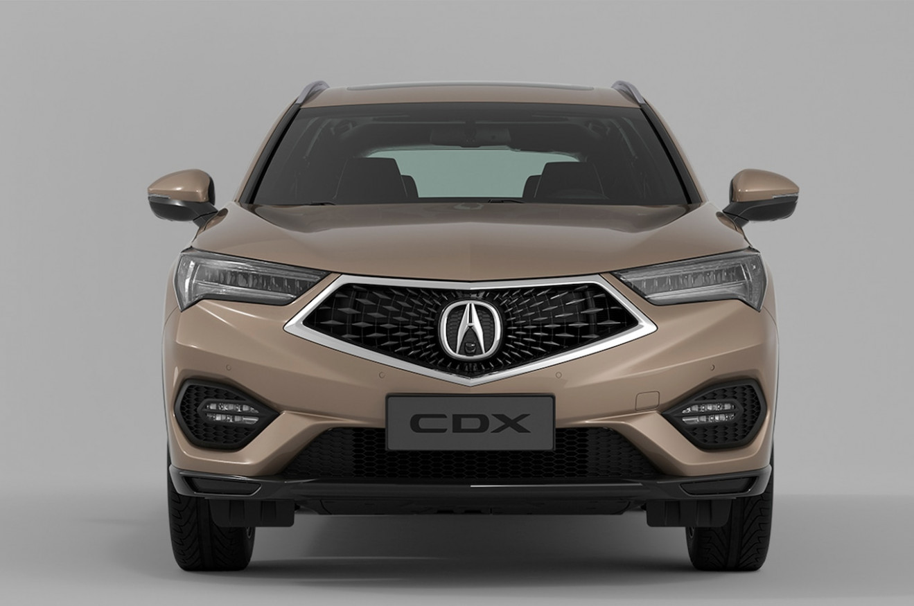 Acura CDX front end - MotorTrend