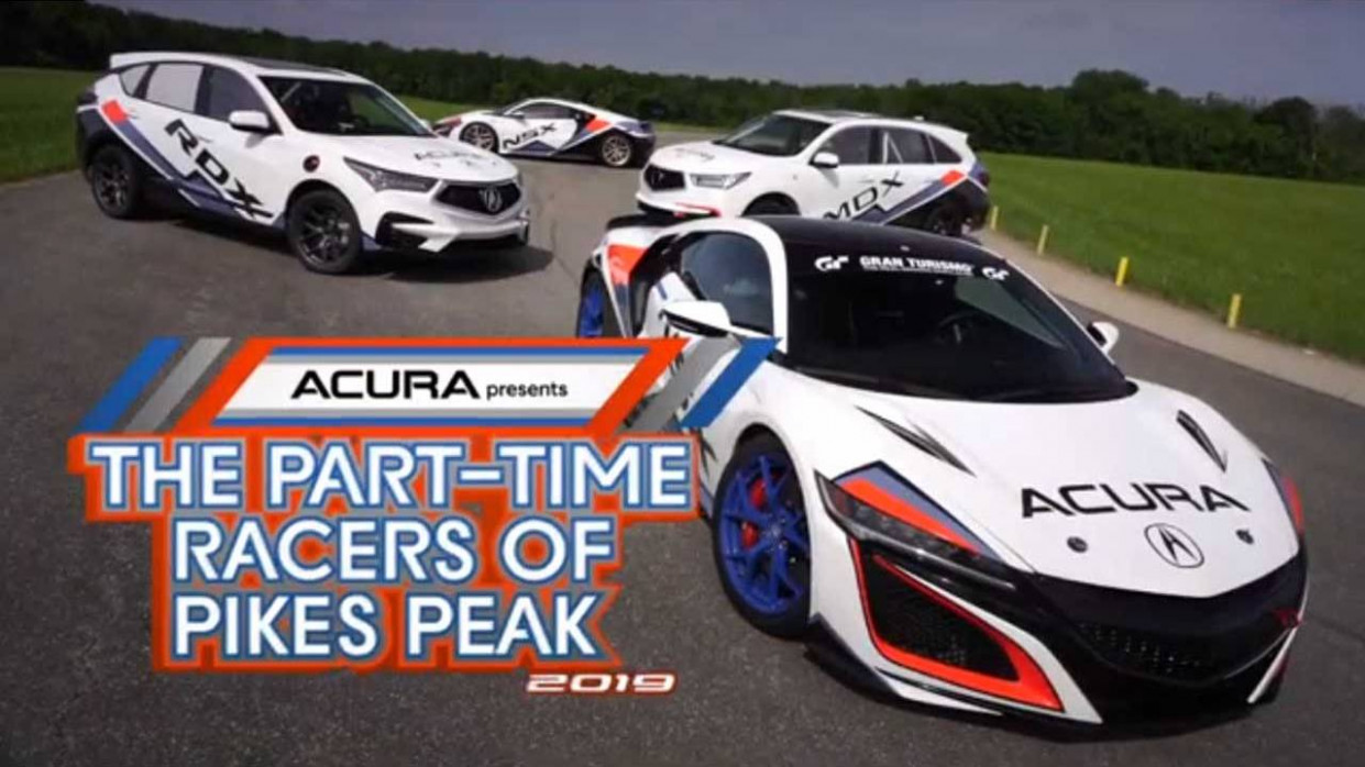 Acura engineers to race four vehicles up Pikes Peak - SlashGear