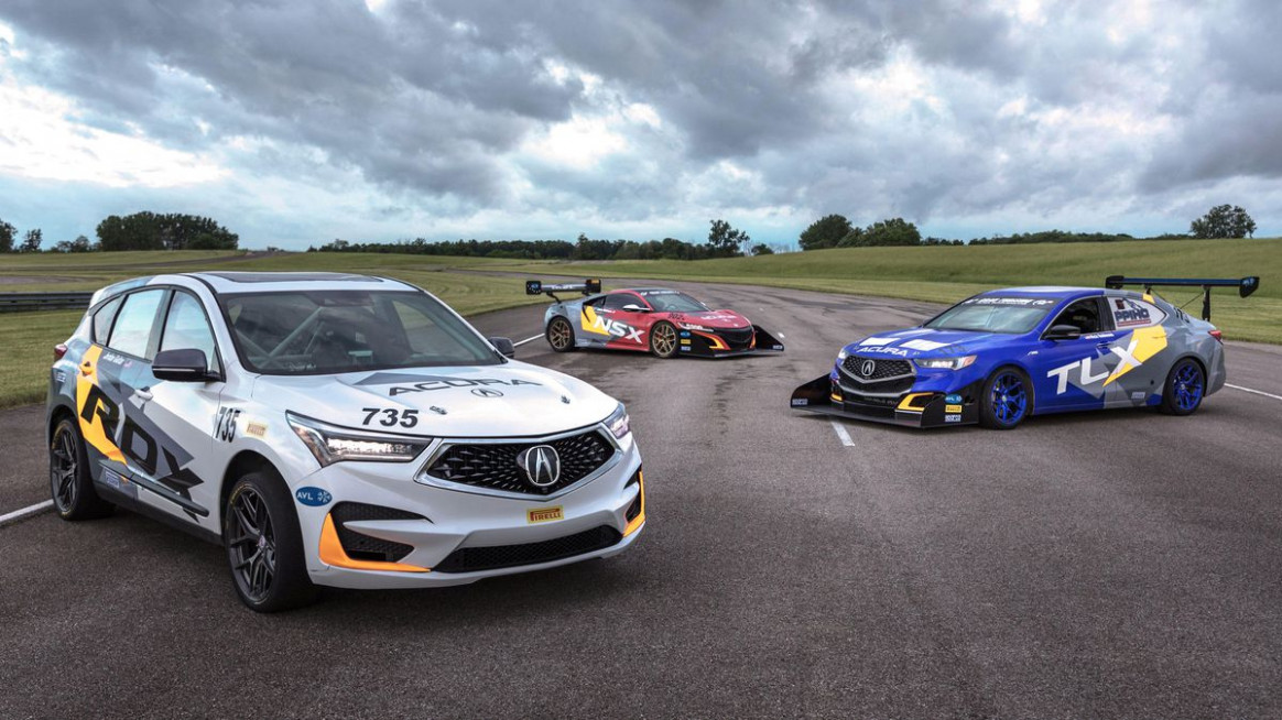 Acura sends four cars to the 8 Pikes Peak Hill Climb - Roadshow