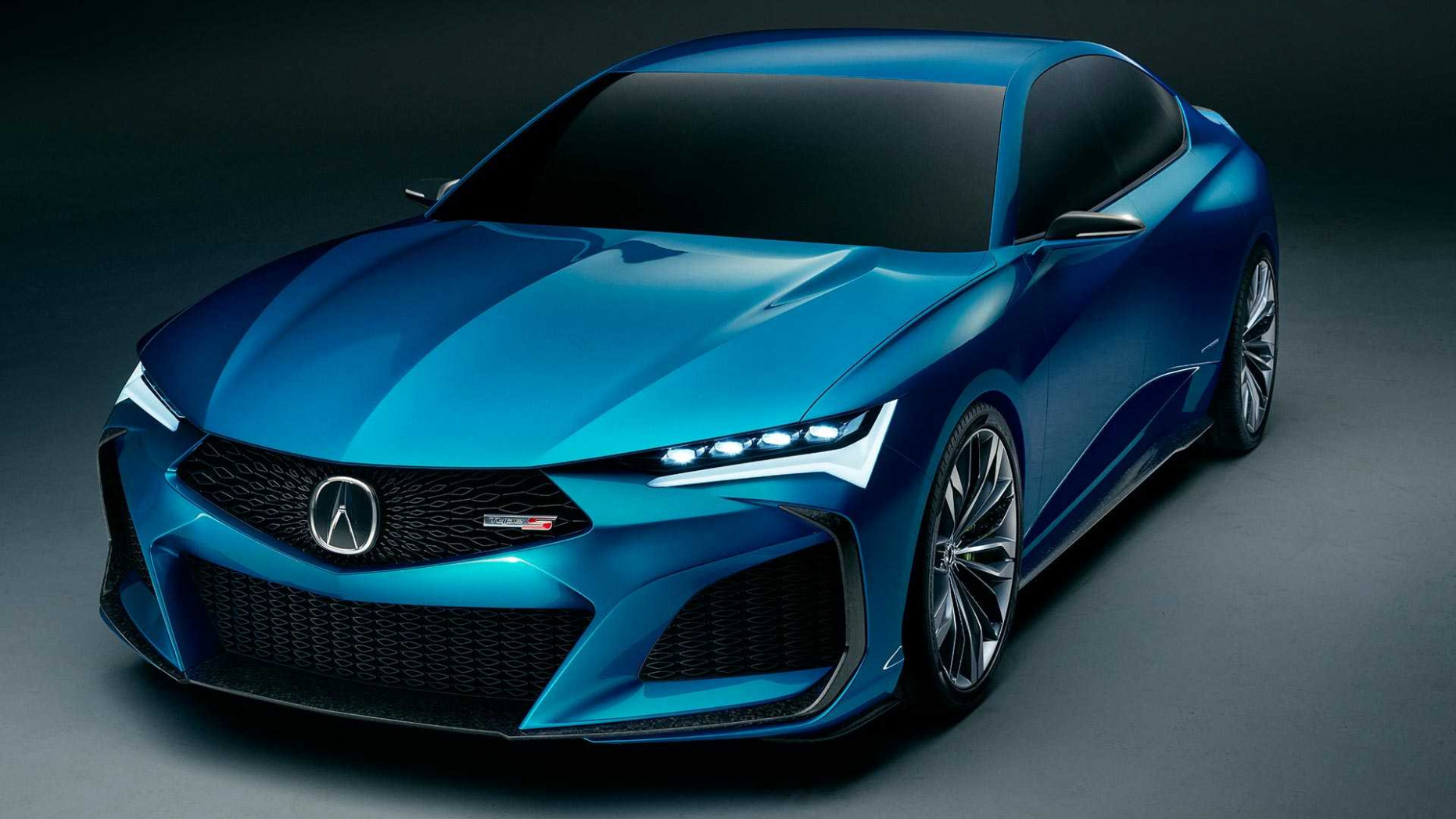 Acura Type S Concept Debuts As Sporty Vision Of Four-Door Future - acura coupe 2020