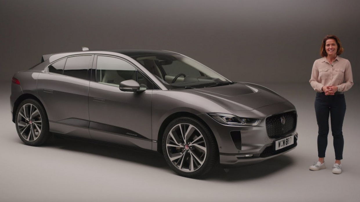 All-Electric Jaguar I-PACE | Unwrapped with Amanda Stretton - jaguar i pace 2020 youtube