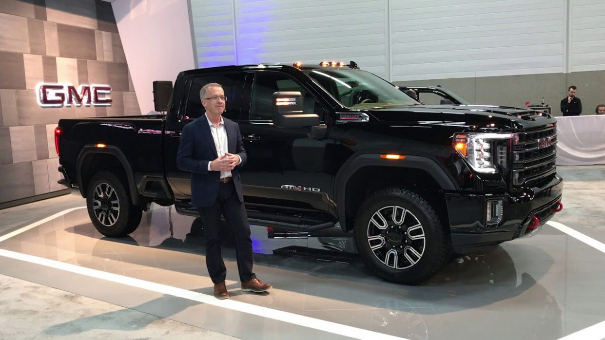 All-New 7 GMC Sierra HD Canadian Debut at Edmonton Motorshow