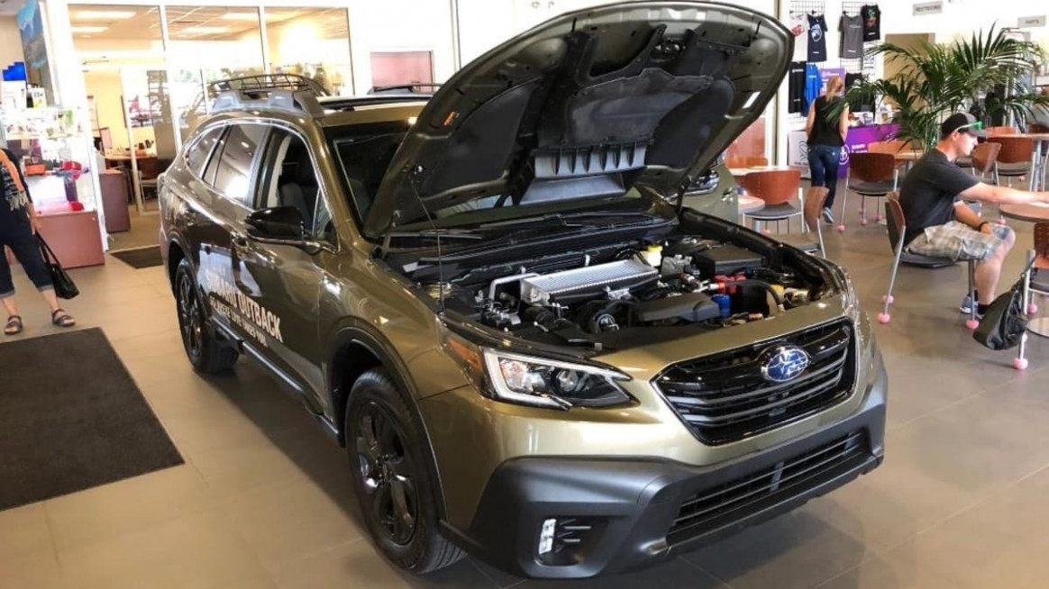 All-New Subaru Outback Sits In The Showroom But You Can't Drive It ...