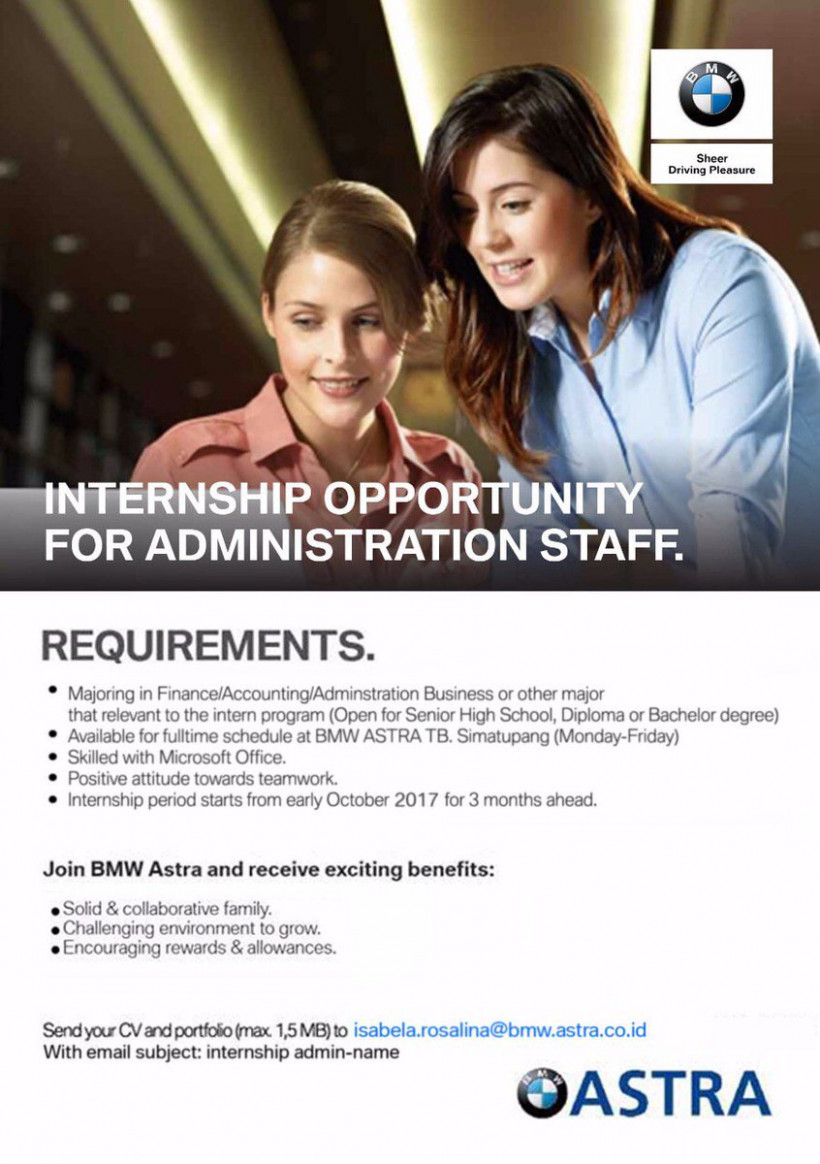 "Astra Career on Twitter: ""#AstraIntern Vacancies at Astra BMW .."