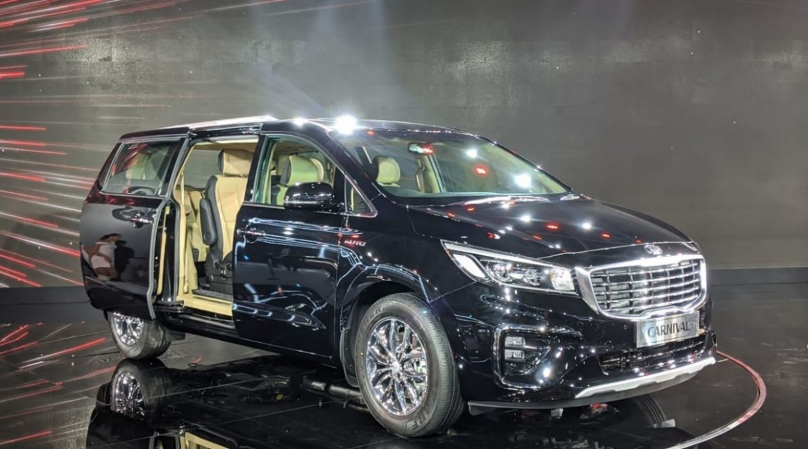 Auto Expo 7: Kia Carnival launched in India, price starts at Rs ..