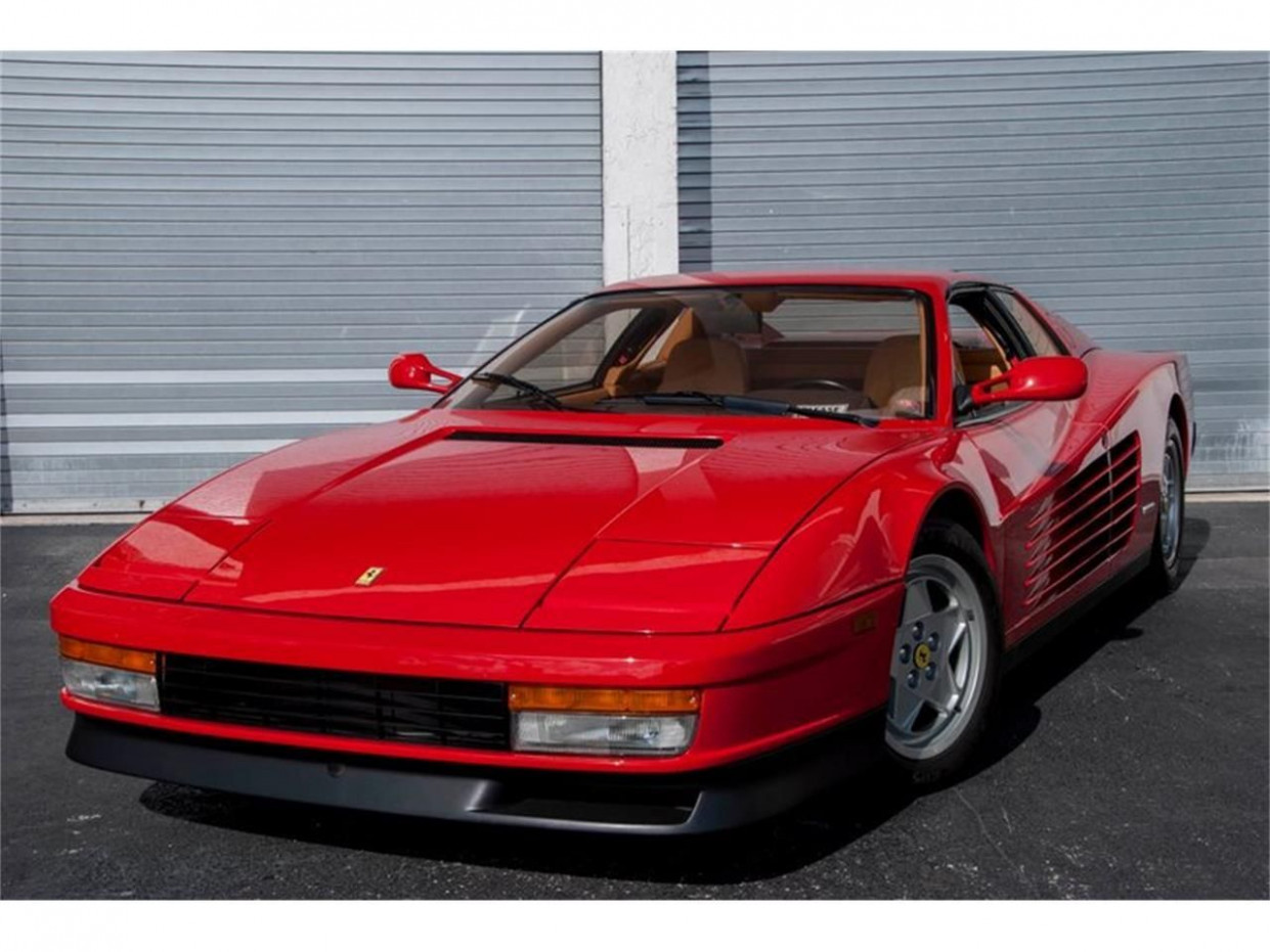 Barrett Jackson 8 Ferrari Testarossa Release Date Check more at ..