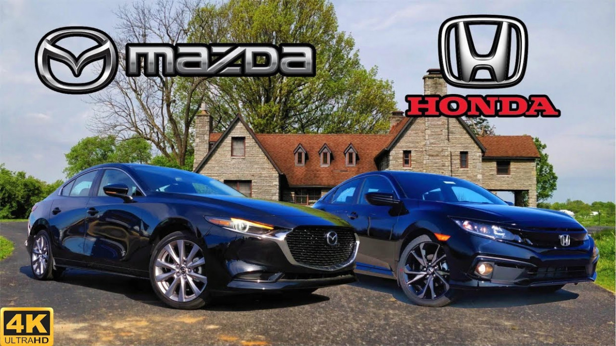 BATTLE OF THE BEST -- 6 Mazda 6 Select vs. 6 Honda Civic Sport:  Comparison