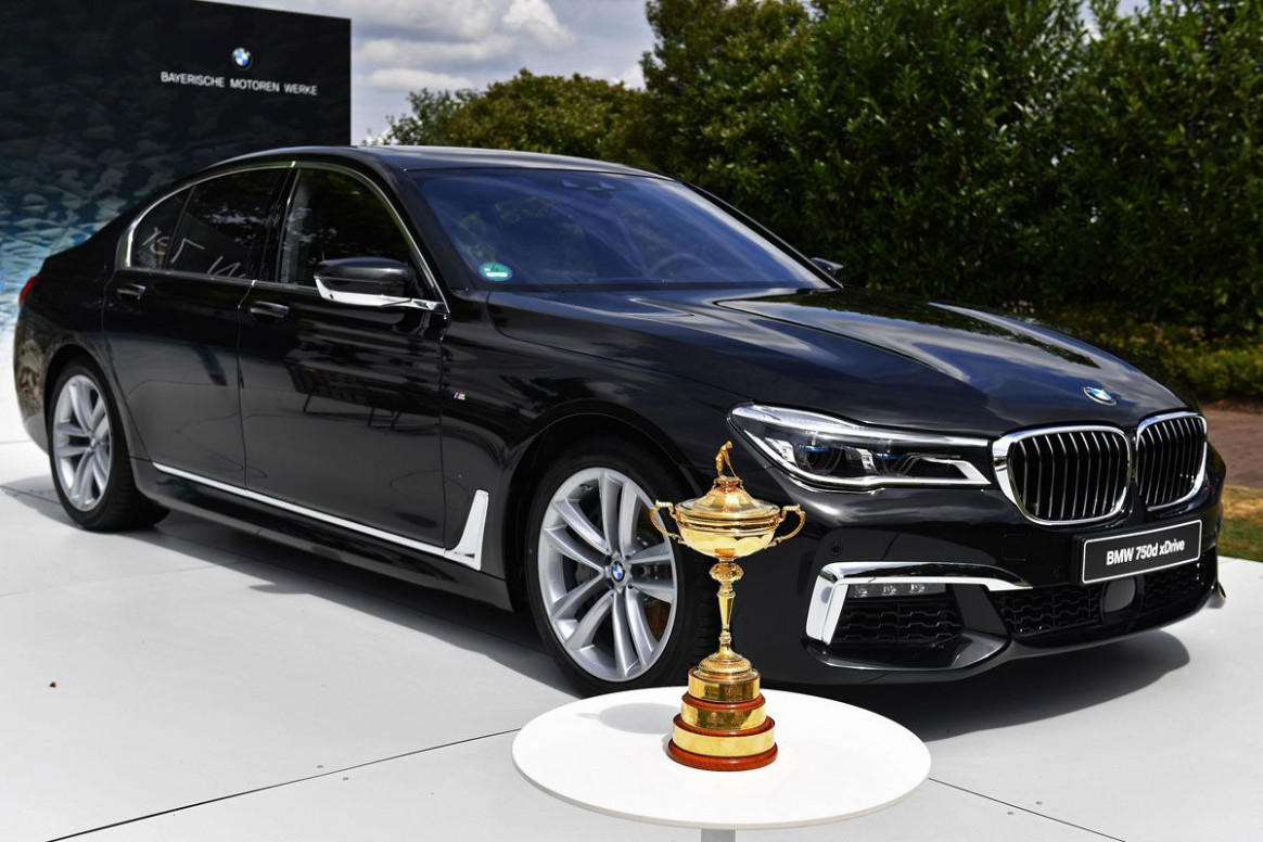 BMW becomes Worldwide Partner of The Ryder Cup