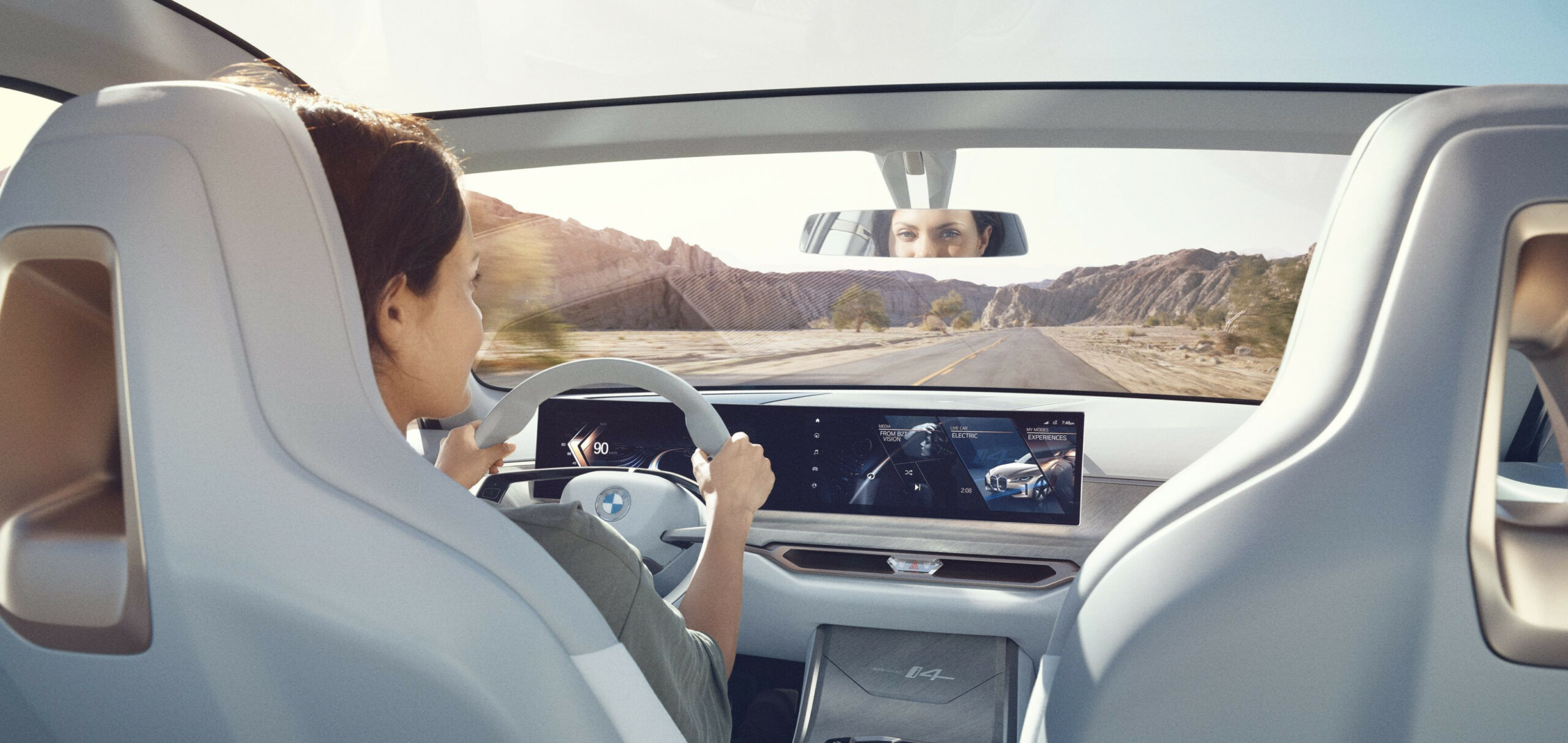 BMW unveils i7 electric car: a stunning Gran Coupe with a massive ...