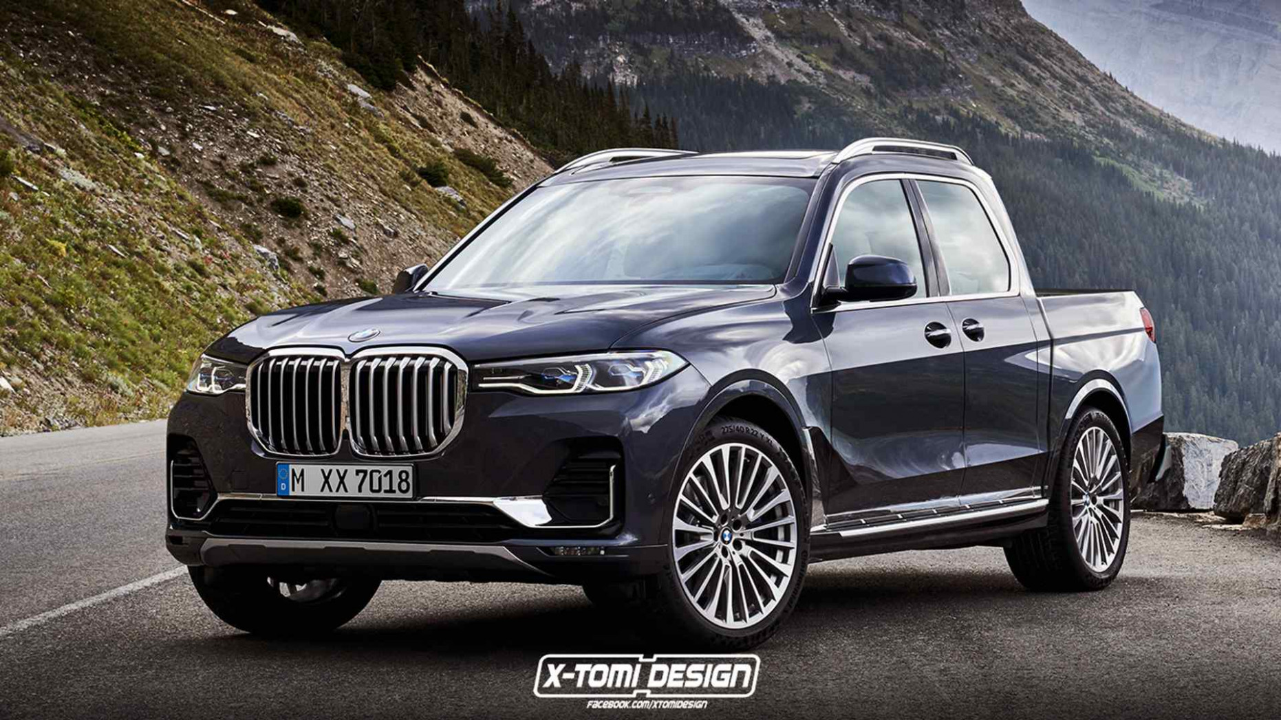 BMW X6 Pickup Rendering Is Obviously Just For Fun - 2020 bmw ute