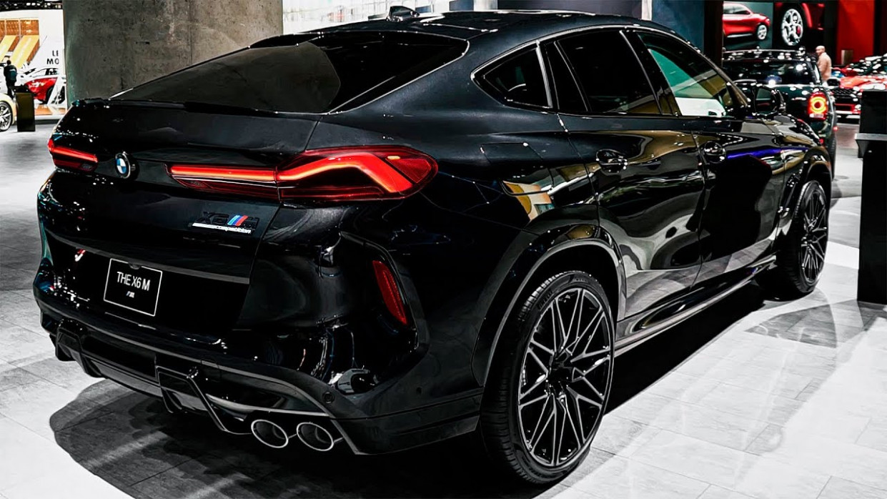 BMW X8 M (8) Competition - New High-Performance X8 - 2020 bmw v6